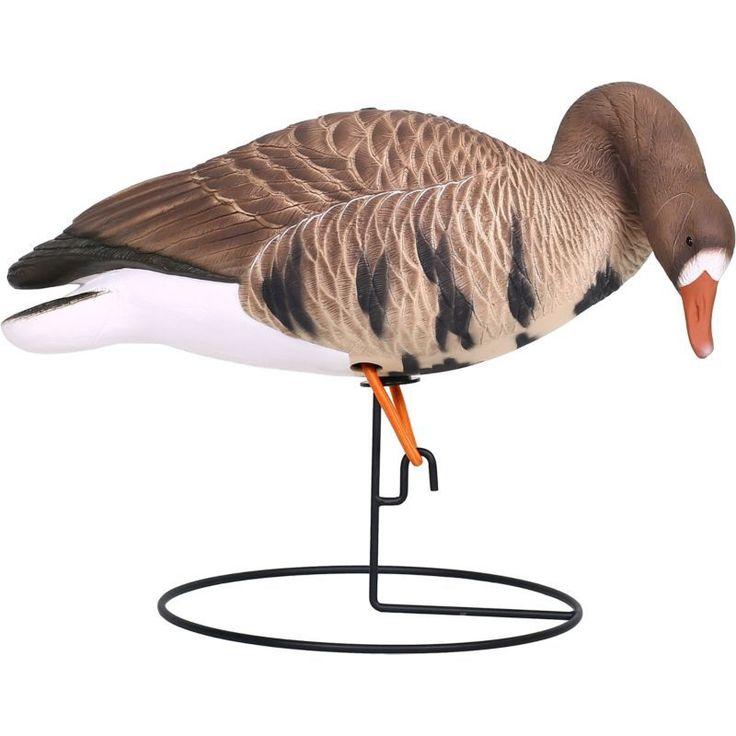 Hard Core Full Body Specklebelly Goose Feeder Decoys – 6 Pack