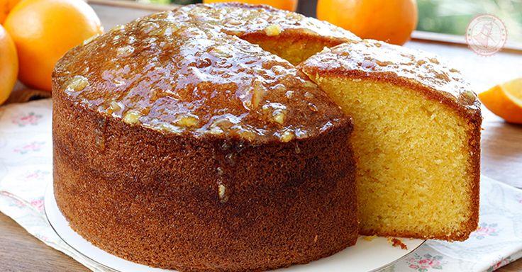 Il pan d arancio una ricetta tipica siciliana semplicissima con la particolarità di avere all'interno un'arancia totalmente frullata, anche la buccia.