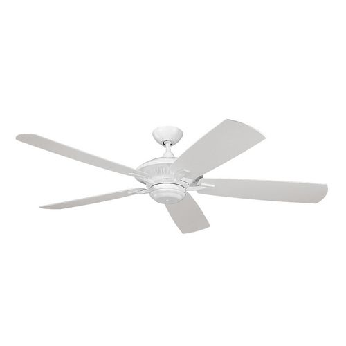 Monte Carlo Ceiling Fan Without Light in White Finish 5CY60WH