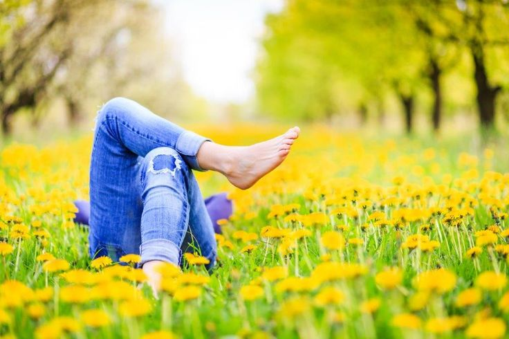 Adventure activities in South Africa. Woman lying in a field of flowers. http://bit.ly/1bcZcel #dirtyboots #adventure #activities #thingstodo #meetsouthafrica