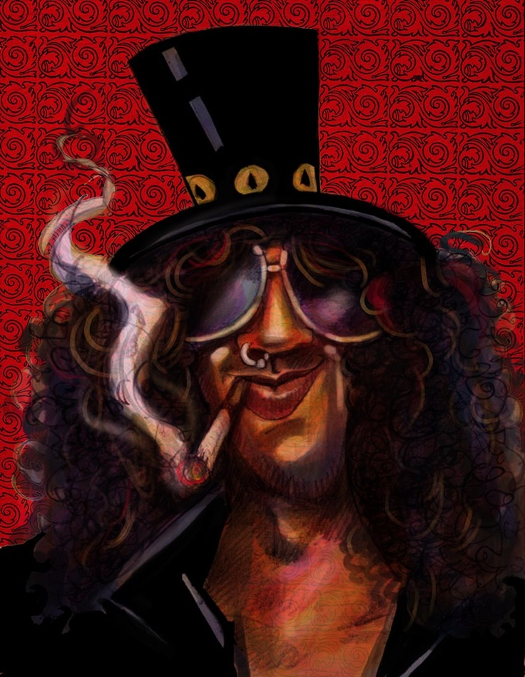 Slash - ilustracion Freddy Leal