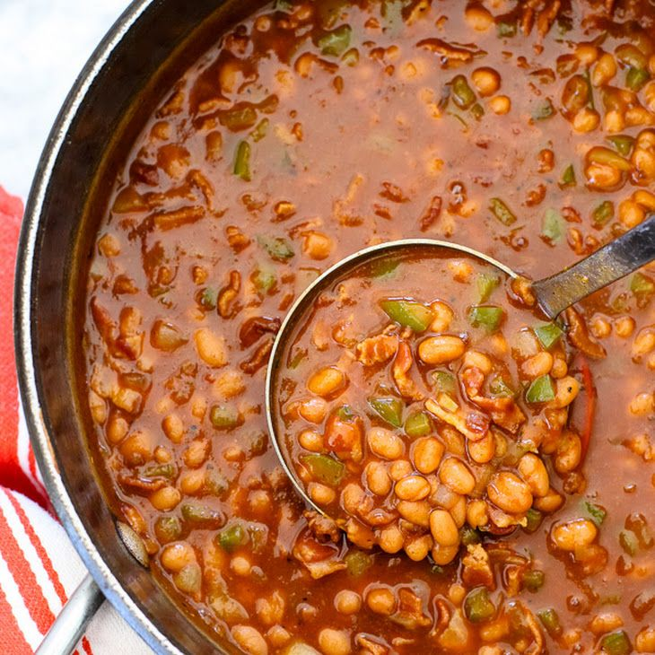 The Best Bbq Baked Beans Recipe Side Dishes With Bacon