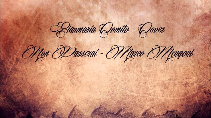 Marco Mengoni - Non passerai - Music Video - Gian Maria Cover