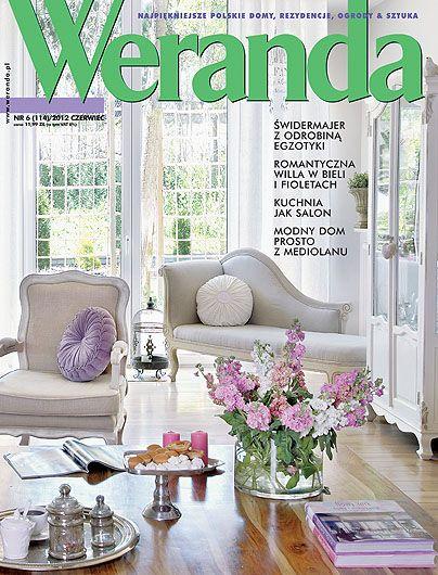 Okładka magazynu Weranda 6/2012 www.weranda.pl