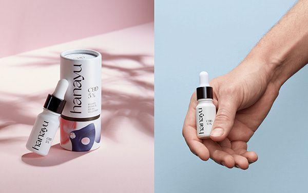 hanayu, Branding & Packaging for a CBD brand on Behance