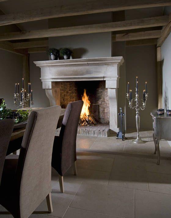 #Bourgondische dallen van Frans kalksteen - Opkamer dallen - #Natuursteen - Bourgondische dallen ideeën | de-opkamer.nl
