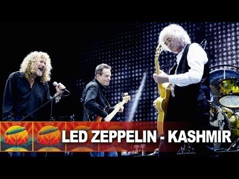"Led Zeppelin, ""Kashmir"" from the DVD ""Celebration Day"", 10 December 2007, in London's O2 Arena. Quelle: youtube.de by ledzeppelin"