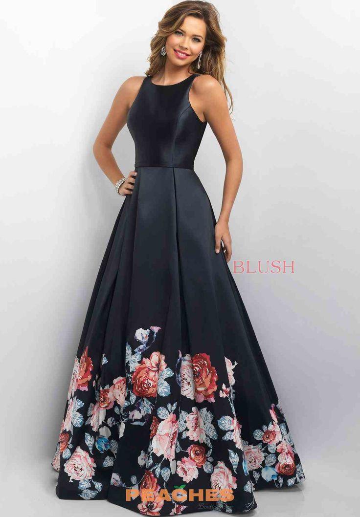 Blush Floral A Line Dress 11136