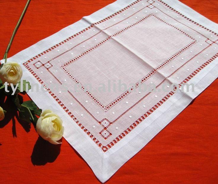 bordado de manteles individuales de vainicas-Alfombrillas y Almohadillas-Identificación del producto:250184157-spanish.alibaba.com