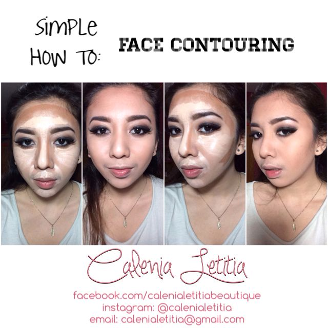 Simple #howto: FACE CONTOURING   Xoxo #calenialetitia ✨  #makeuptutorial #howto #makeup #eyemakeup #makeupart #makeupartist #mua #promua #makeupinspirations #anastasiabeverlyhills #beauty #beautyblogger #bblogger #fashion #style #tutorial #makeuptutorial #howto #d