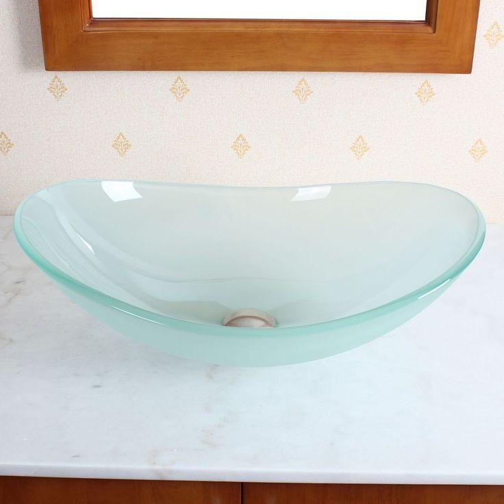 8 best Glass Vessels images on Pinterest | Glass vessel sinks ...