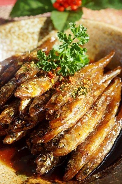 レシピ. 【自家製保存食・ワカサギの甘露煮】コッテリ煮付けてお正月に如何でしょ