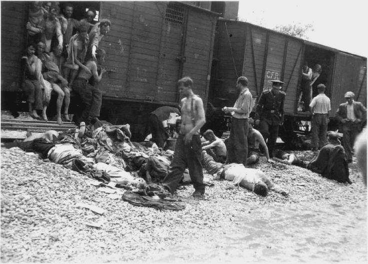 1944, uno dei treni