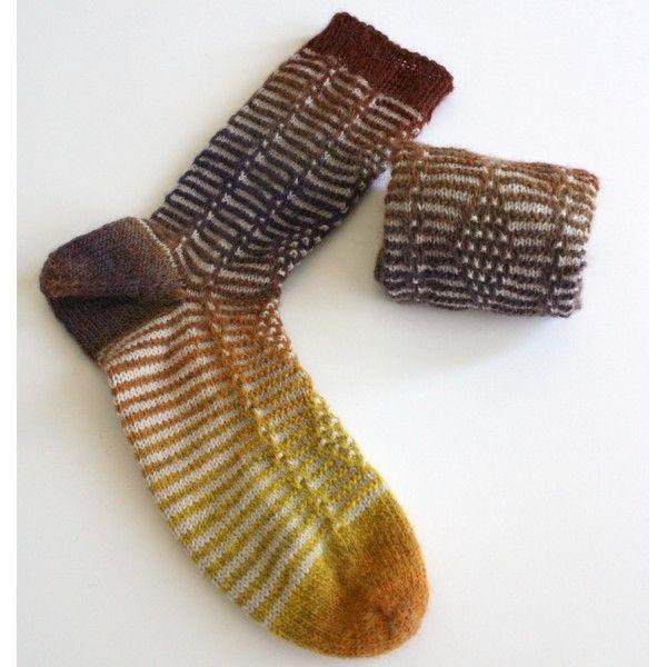 Quatre de carreau est un modèle de chaussettes qui se tricote depuis la pointe. Son motif est plus simple à réaliser qu'il n'y parait grâce aux mailles glissées. Deux types de talon sont proposés.Ces chaussettes se tricotent avec une aiguille 2.5 mm