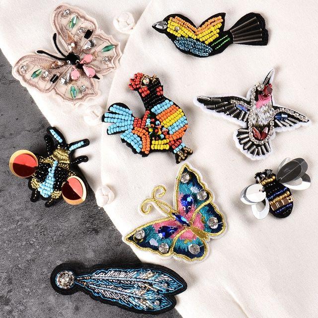 Ucuz 2017 yeni Yüksek Kaliteli Nakış El boncuk yama kuş Böcek kelebek aplike dikmek on 1 sipariş = 3 adet tarafından (satın karıştırabilirsiniz), Satın Kalite Yamalar doğrudan Çin Tedarikçilerden: 2017 yeni Yüksek Kaliteli Nakış El boncuk yama kuş Böcek kelebek aplike dikmek-on 1 sipariş = 3 adet tarafından (satın karıştırabilirsiniz)