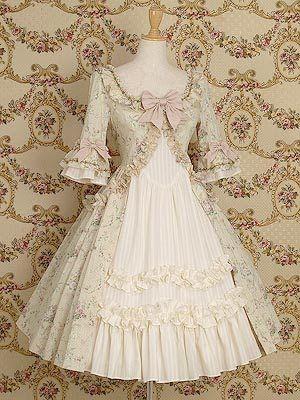 Rococo | ... Alternativa - Moda de Subculturas ]: O Rococó e a Moda Alternativa
