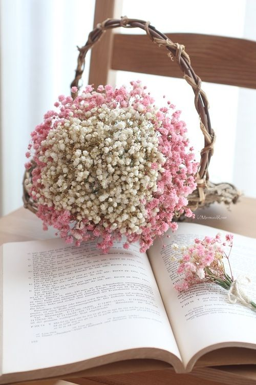 ... Breath on Pinterest | Babys breath wreath, Babies breath bouquet and