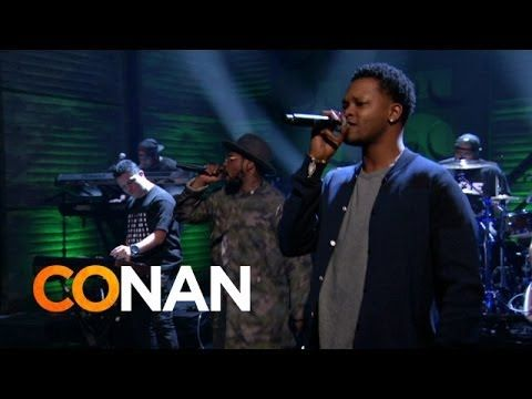 "ScHoolboy Q – Studio (feat. BJ The Chicago Kid) (Live On CONAN) As ScHoolboy Q and the rest of the world celebrated the release of his Oxymoron album, the rapper decided to stop by CONAN to showcase his next single. The Top Dawg Entertainment representative took to the stage to perform the smooth Swiff D-produced track ""Studio,"" along with rightful help from BJ The Chicago Kid for the hook. If you've been living under a rock, be sure to purchase the new LP on iTunes."