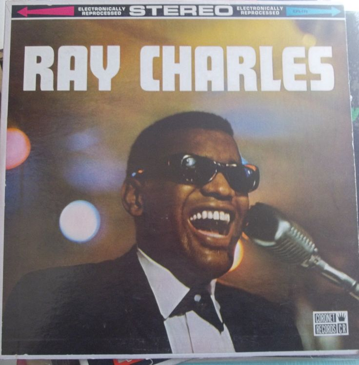 Ray Charles, Self-Titled Album, Vintage Record Album, Vinyl LP, Coronet Records, Classic Rhythm and Blues, Funk, Soul Music, Piano Legend by VintageCoolRecords on Etsy