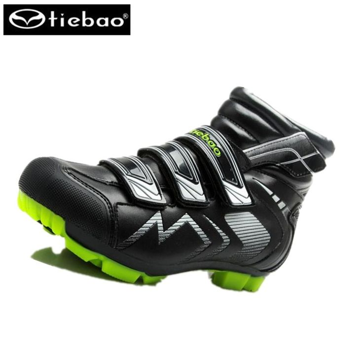 62.77$  Watch now - http://ali4ez.worldwells.pw/go.php?t=32767911416 - Tiebao 2016 winter Cycling Shoes Men's Professional Mountain Bicycle sneakers Self-locking zapatillas ciclismo mtb  cycling boot