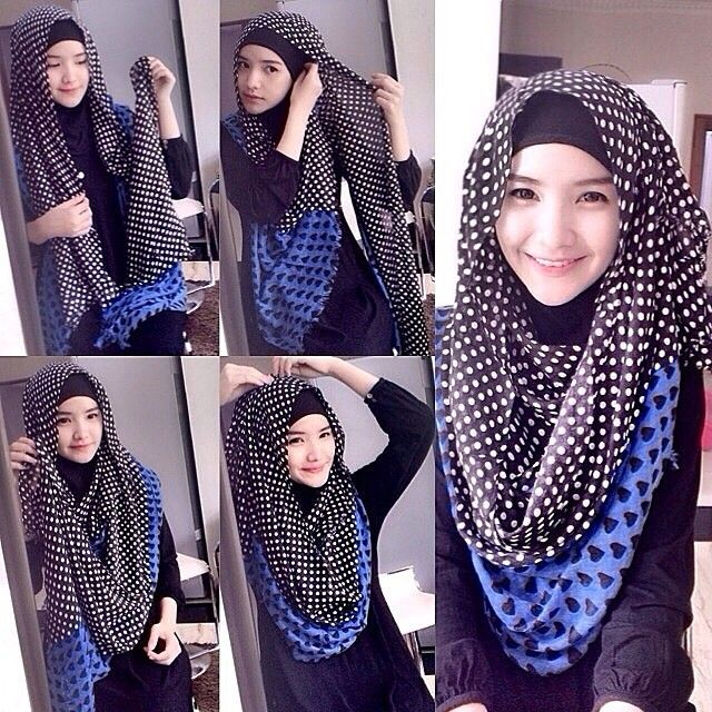 girls Chest Coverage Hijab Tutorial