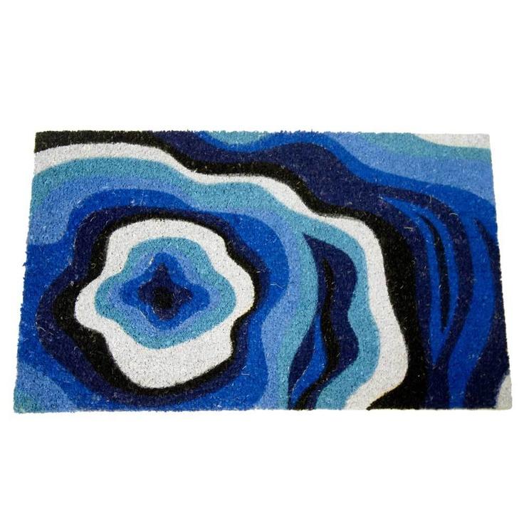 Rubber-Cal Obscure Dimension Modern Door Mat (18 x 30)
