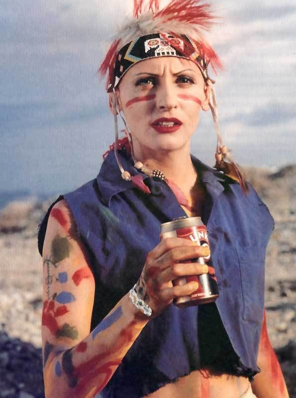 Lori Petty as Tank Girl in the Tank Girl movie (1995).
