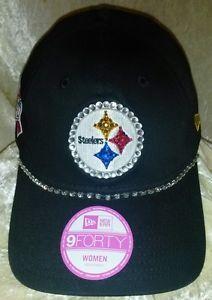 Pittsburgh Steelers Women's Ladies Rhinestone Bling NFL Cap Hat New | eBay