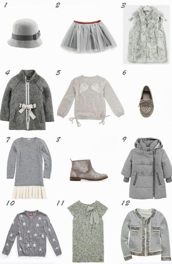 Pequeña Fashionista: La moda en gris