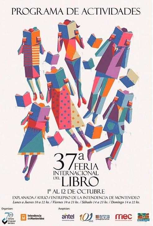 readers - poster for 37a Feria Internacional del Libro, Montevideo