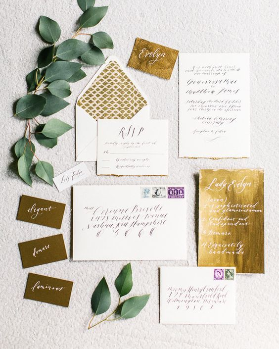 Stunning Invitation Inspirations for a Vintage Wedding-5