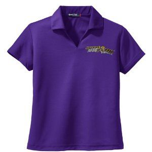 Royal Purple 18-RP-377-M Purple Medium Lady's Dri-Mesh Polo T-Shirt by Royal Purple. $45.89. Royal Purple Medium Lady's Purple Dri-Mesh Polo is designed to keep you confident during activity with the advanced double poly mesh construction of Dri-Mesh. This shirt is engineered to wick away moisture with ease. Royal Purple's lightweight polo has superior breathability to help you keep your cool. It offers a gently contoured silhouette and a self-fabric Johnny collar. This polo f...