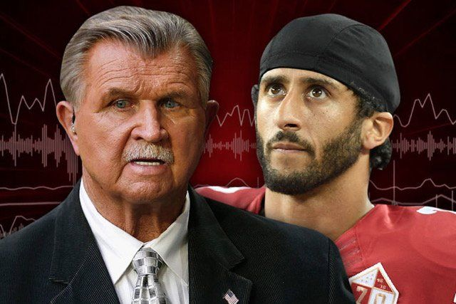 Legendary Chicago Bears coach Mike Ditka was interviewing on radio row at the Super Bowl when the discussion turned to politics.