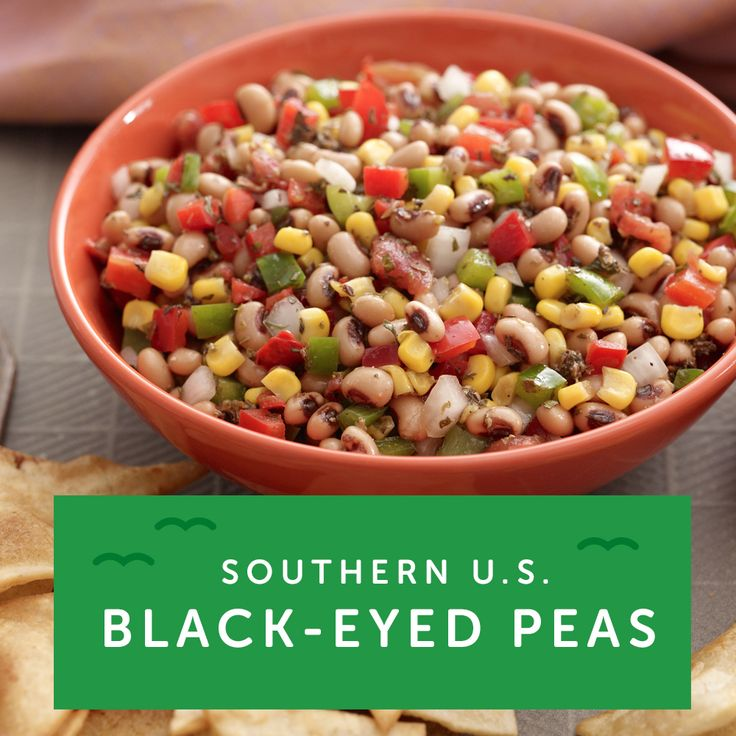 """If you're a fan of southern food, their traditional dish is """"Hoppin' John"""" featuring black eyed peas. For some inspiration, try our Southwest Skillet Supper recipe."""