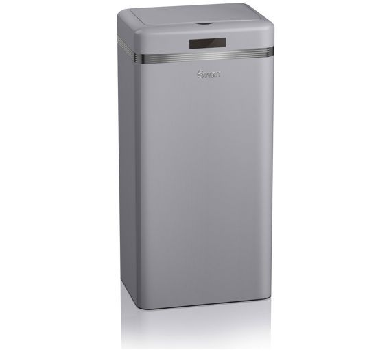 Buy Swan Sensor Bin - Grey at Argos.co.uk, visit Argos.co.uk to shop online for Kitchen bins, Kitchenware, Cooking, dining and kitchen equipment, Home and garden