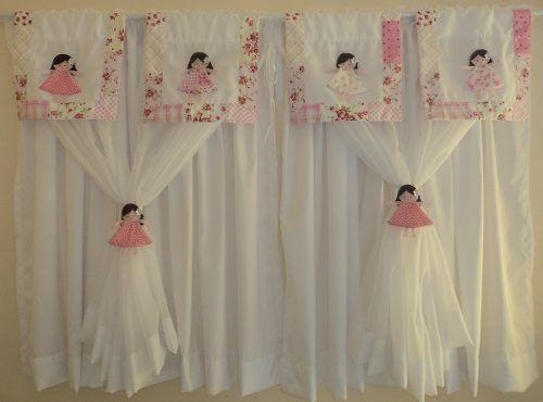 1000 ideas sobre cortinas com bando en pinterest bando - Cortina habitacion infantil ...