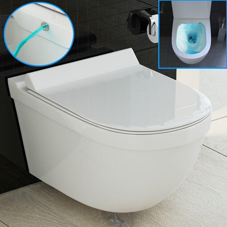 Dusch WC/Hänge WC mit Bidet/Taharet Funktion aus ...