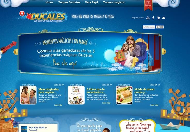 Crea una cadena de toques mágicos con Ducales y comparte la magia del toque secreto.   www.ducales.com.co
