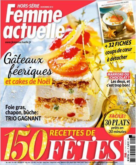 Recette noel femme actuelle - Un site culinaire populaire avec des recettes utiles