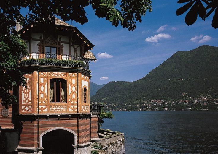 Villa Cima, che ora appartiene al complesso di Villa d'Este, fu costruitaper l'intellettuale Vittoria Cima nel 1815 #lakecomoville