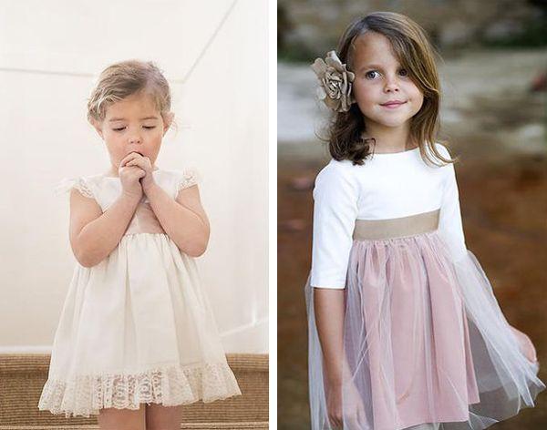 Vestidos de arras de Teresa y Leticia · Tendencias de Bodas Magazine