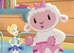 DoctoraJuguetesJuegos.com - Juego: Rompecabezas Bella y Lambie - Juegos de Puzzles de Doctora Juguetes Disney Jugar Gratis Online