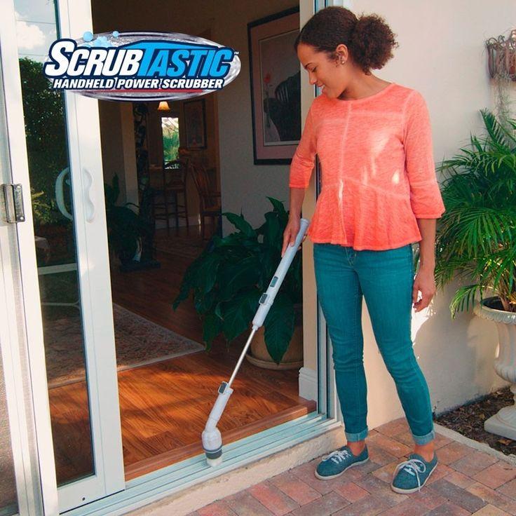 SCRUBTASTIC  Restriegue la mugre más pegada sin esfuerzo y en minutos  ¡Cómprela ahora! www.telovendo.com.co/scrubtastic-cepillo-giratorio.html (+57) 3176404688