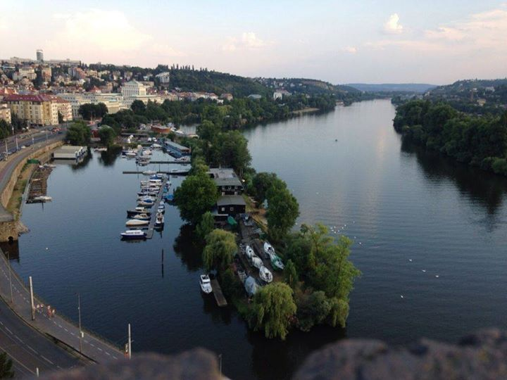 View from Vysehrad, Prague
