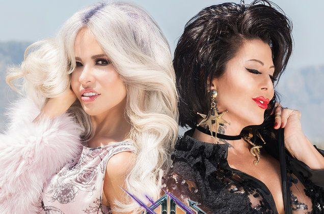 Gloria Trevi & Alejandra Guzman's 'Cuando Un Hombre Te Enamora' Video: Exclusive Behind the Scenes   Billboard