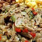 Foto de la receta: Tacos de carne deshebrada de res