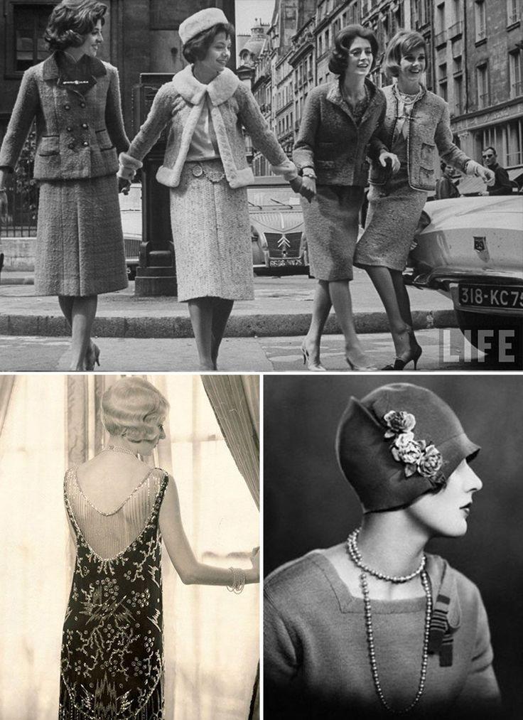 A moda dos anos 20 quebrou os padrões vigentes. As mulheres do pós-Guerra se livraram dos espartilhos, cortaram o cabelo e mostraram sua força.