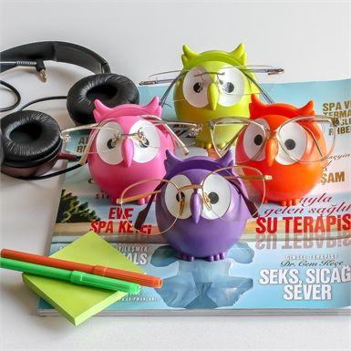 Gözlük Tutucu Baykuş - 25 TL
