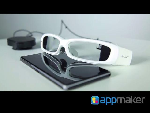 """APLICACIONES MÓVILES ¿Qué es el Smart Eye Glass? APP MAKER TE PLATICA.  Sony está próximo a lanzar sus nuevos lentes  inteligentes """"Smart Eye Glass"""", dirigidos a un mercado más empresarial que personal, su lanzamiento  se prevé para marzo del año próximo. A diferencia de los Google Glasses, el wearable de Sony depende de un smartphone y su diseño no es de lo más estético, a simple vista no sería un articulo que se use con total normalidad. www.appmaker.mx"""