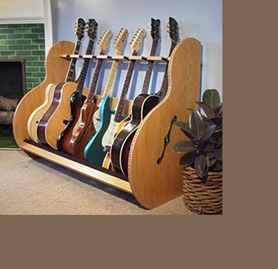 Guitar Display Racks – 'The Session™ Deluxe' | GuitarStorage.com